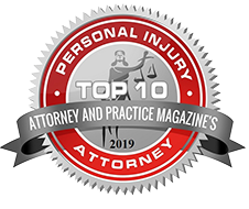 Top 10 Attorney Badge 2019