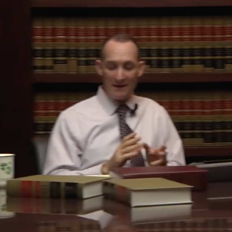 Mark Freely in his office